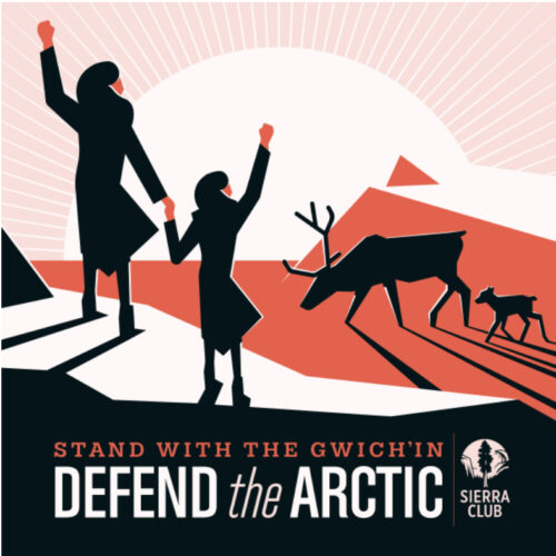 Poster from Sierra Club to Defend the Arctic